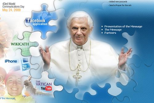 Pope facebook