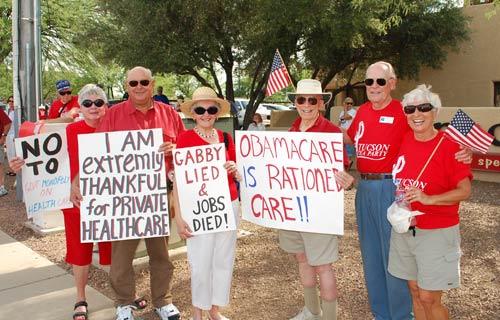 Senior protest